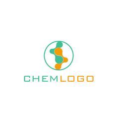 Stem sells logo genetic engineering logo vector