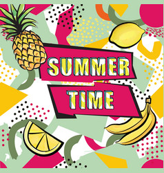summer time background abstract dotted pattern vector image