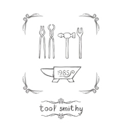 Tool Smithy Two vector image