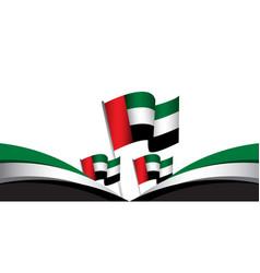 United arab emirates national day celebration vector