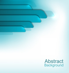Abstract Shiny Blue Background vector image