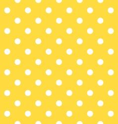Seamless dots pattern vector image vector image