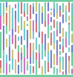 abstract colored rounded lines background vector image