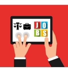 App for a job vector