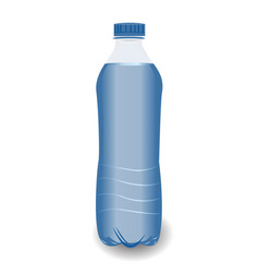 bottle of clean water on a whight background vector image
