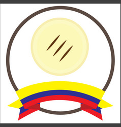 Colombia arepa vector