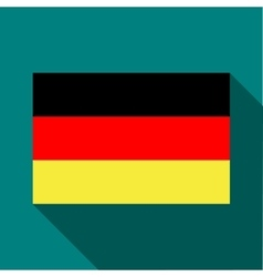 Flag of Germany icon in flat style vector image