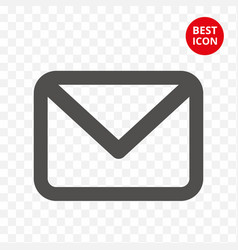 Icon mail email isolated sign trendy mail symbol vector