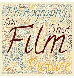Landscape Photographers text background wordcloud vector image