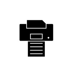 printer icon signs and symbols can be used for vector image