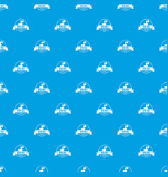 renovation tool pattern seamless blue vector image