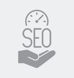Top seo performance service vector