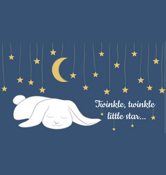 Twinkle twinkle little star vector
