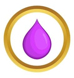 Drop oil icon vector image