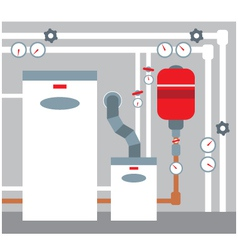 Boiler room vector image