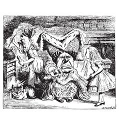 Cook Duchess Cheshire vector image