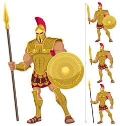 Greek hero vector