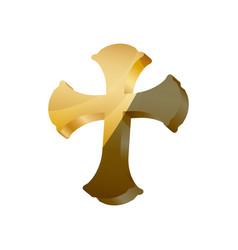 Saint cross christianity vector
