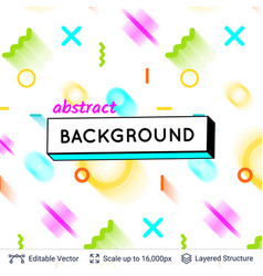 abstract avangarde retro background vector image