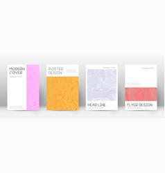 Abstract cover quaint design template suminagash vector