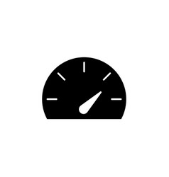 gauge speed dashboard icon signs and symbols can vector image