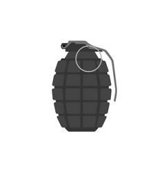 hand grenade arm weapon explosive vector image