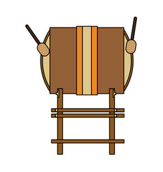 musical instrument icon image vector image