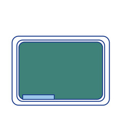 school chalkboard icon vector image