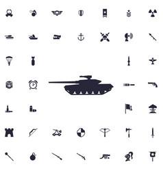 Tank icon vector
