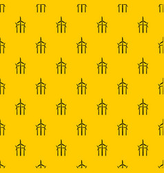 windmill pattern vector image