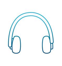 winter earmuffs icon vector image