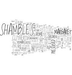 A show saintly courage in shambles text word vector