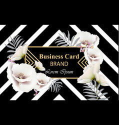 Business luxury card modern abstract vector