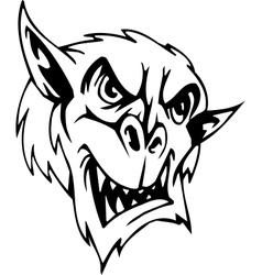 Goblin - halloween set vector
