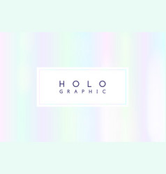 holographic white abstract background vector image
