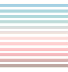 horizontal pinstripes in soft colors vector image