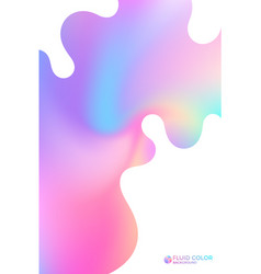 Liquid ink vector
