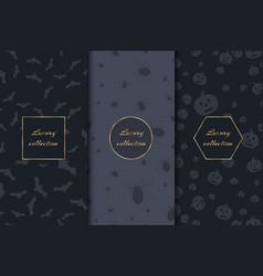Luxury backgrounds for halloween vector
