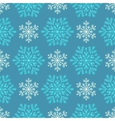 Seamless winter texture vector image