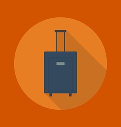 Travel Flat Icon Luggage vector image vector image