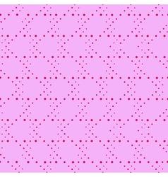 Polka dot seamless pattern Abstract dots vector image vector image