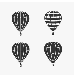 Balloon Flying Set vector image