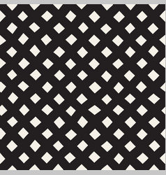 Hand drawn line lattice seamless black and vector