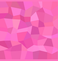 Pink mosaic background - polygonal graphic design vector