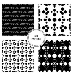 triangless pattern gray vector image