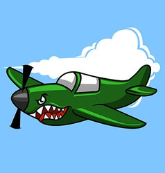 Destroyer aircraft vector
