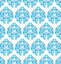 blue vintage seamless pattern vector image vector image