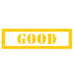stamp good vector image