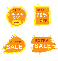 11 november sale banners set vector image