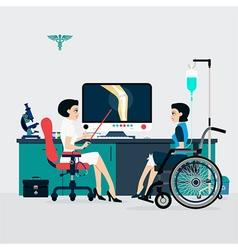 Bone Doctor vector image